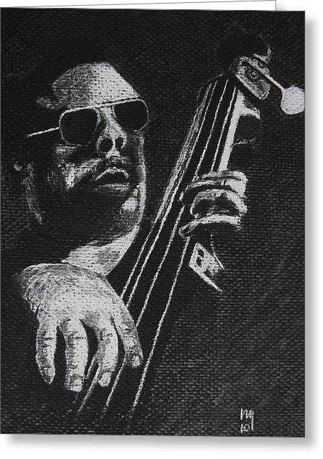 Mingus Greeting Card by Nick Young
