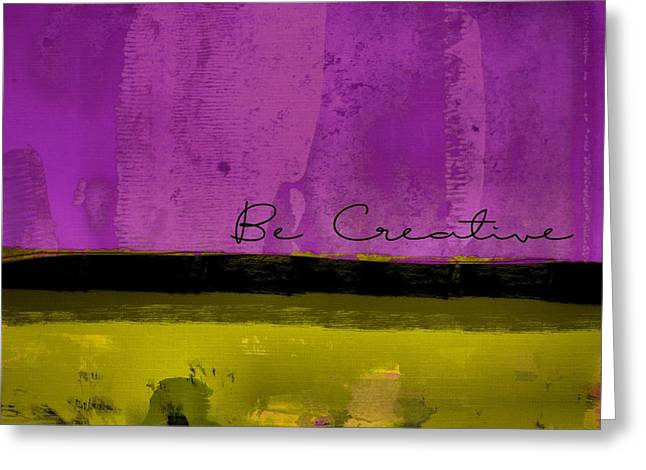 Minima - Be Creative Bc1b-pgv3 Greeting Card by Variance Collections