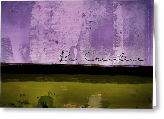 Minima - Be Creative - Bc1pgv3 Greeting Card by Variance Collections