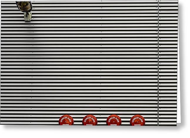 Minimalism Greeting Cards - Minimax Quattro Light Greeting Card by Stefan Krebs