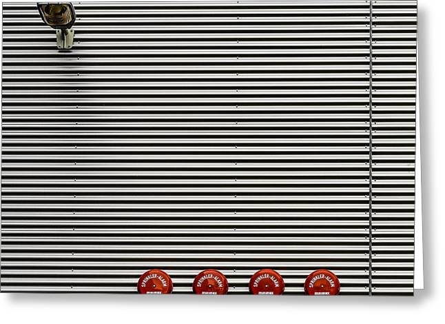 Minimalism Photographs Greeting Cards - Minimax Quattro Light Greeting Card by Stefan Krebs