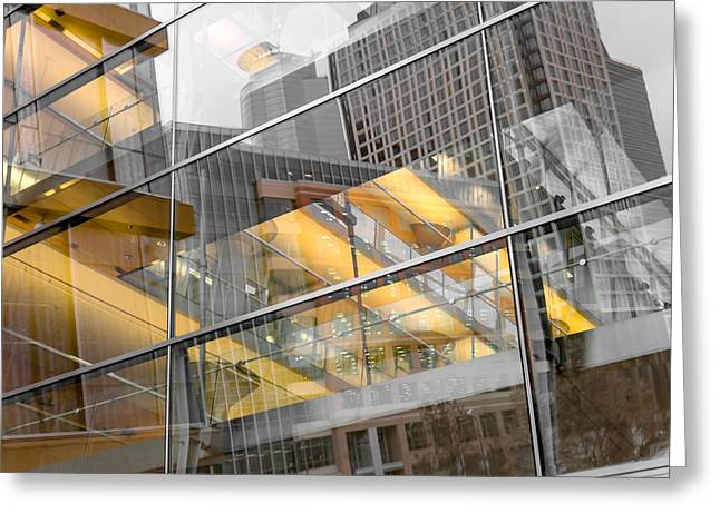 Minneapolis Public Library Greeting Card by Jim Hughes