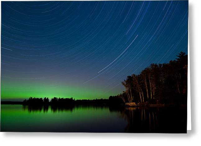 Minnesota Magic Greeting Card by Adam Pender