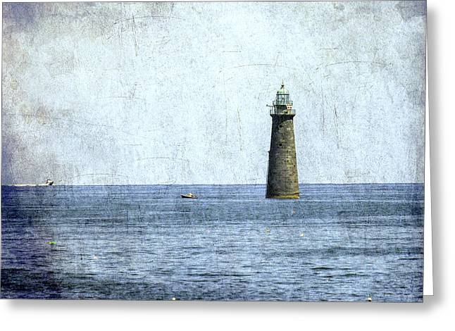 Minot Ledge Light Greeting Card by Brian MacLean