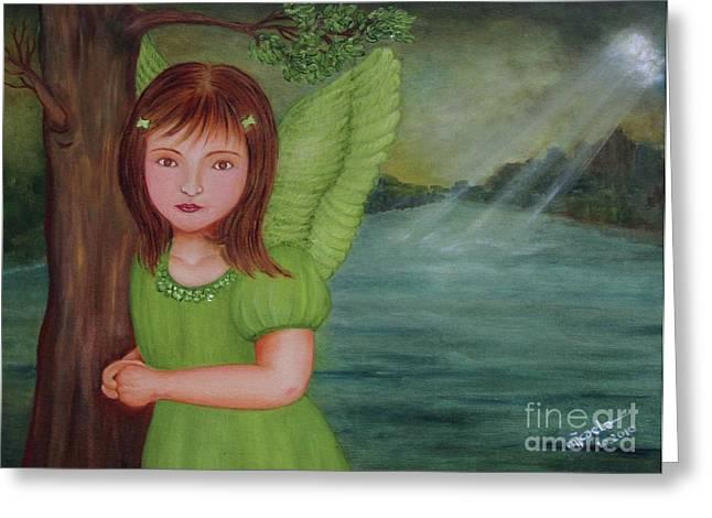 Miracle Greeting Card by Desiree Micaela