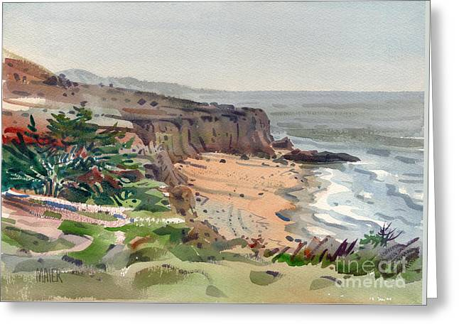 Pacific Greeting Cards - Miramonte Beach Greeting Card by Donald Maier
