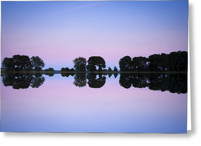 Reflecting Water Greeting Cards - Mirror image Greeting Card by Chris Smith