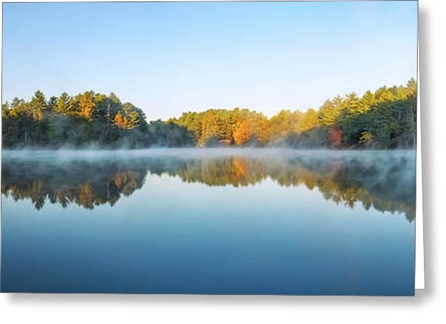 Mirror Lake Greeting Card by Scott Norris