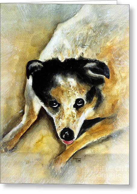 Recently Sold -  - Best Friend Greeting Cards - Miss Dee Greeting Card by Tim Ross
