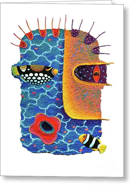 Missing The Sea Greeting Card by Opas Chotiphantawanon