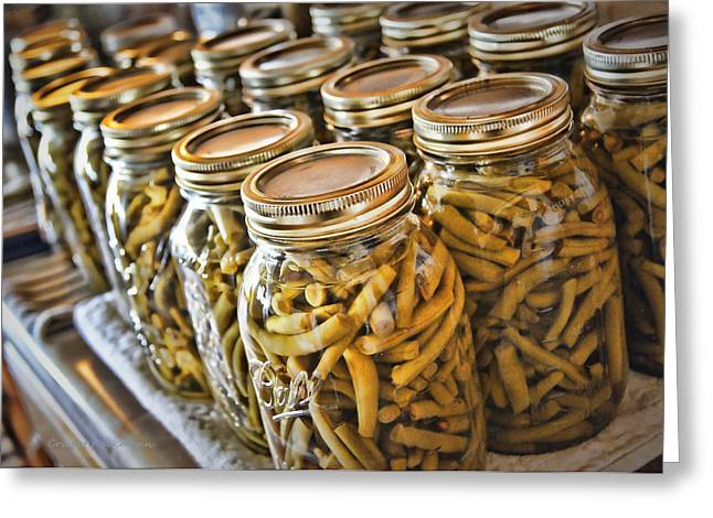 Canning Jars Greeting Cards - Mission Accomplished Greeting Card by Cricket Hackmann