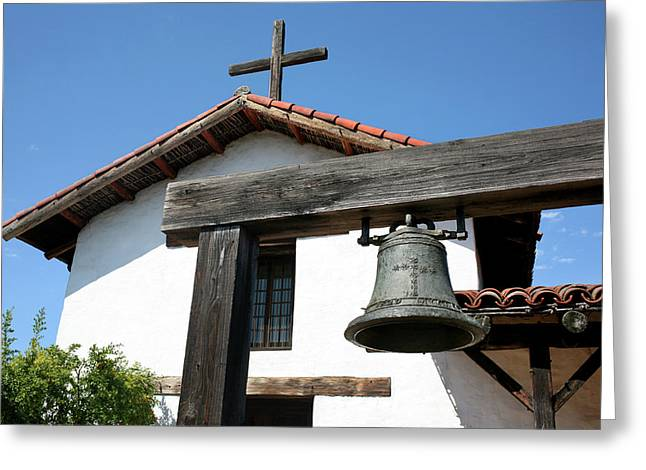 Mission San Francisco De Solano - Sonoma Greeting Card by Art Block Collections