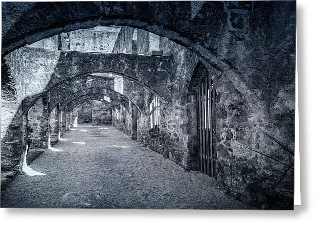 Historic Site Greeting Cards - Mission San Jose Convento Greeting Card by Joan Carroll