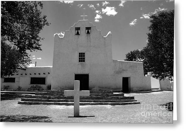 Mission San Jose Greeting Card by David Lee Thompson