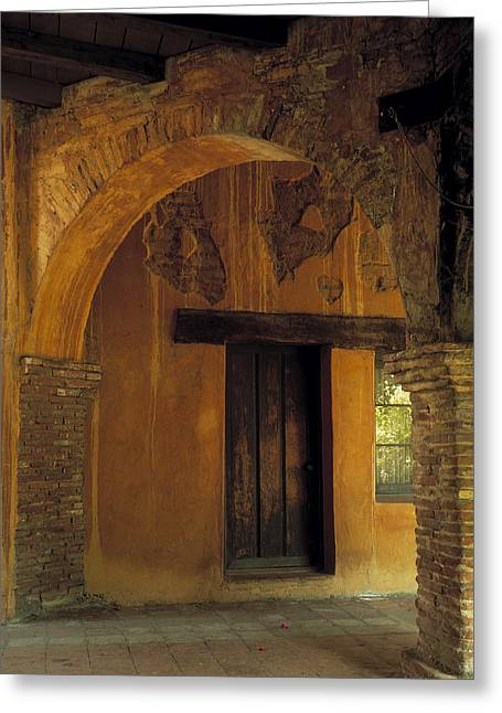 California Mission Greeting Cards - Mission San Juan Capistrano Greeting Card by Cliff Wassmann