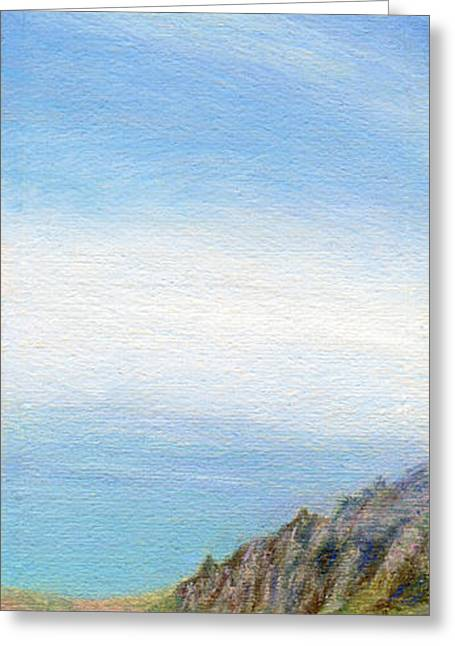 Kauai Greeting Cards - Mist Over Napali Greeting Card by Kenneth Grzesik