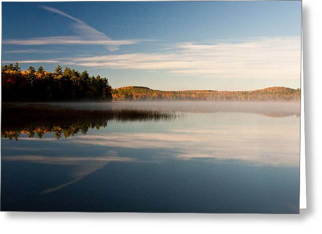 Brent L Ander Greeting Cards - Misty Morning Greeting Card by Brent L Ander