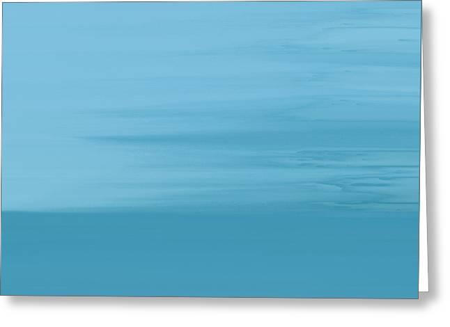 Misty Sea Greeting Card by Frank Tschakert