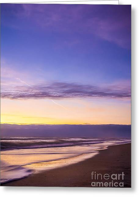 Misty Sunrise Greeting Card by Marvin Spates