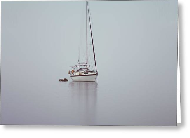Nowhere Greeting Cards - Misty Weather Greeting Card by Stylianos Kleanthous