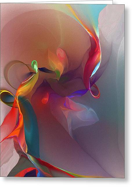 Modernism Greeting Cards - Mixed Emotions Greeting Card by David Lane
