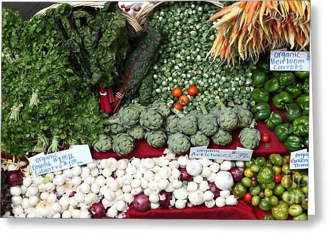 Mixed Vegetables - 5d17086 Greeting Card by Wingsdomain Art and Photography