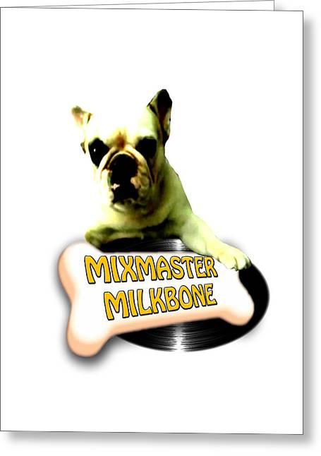Selling Artwork Online Greeting Cards - Mixmaster Milkbone Greeting Card by Lee Brown
