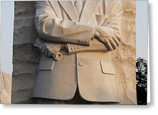 MLK Memorial in Washington DC Greeting Card by Brendan Reals
