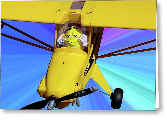 Model Aircraft Greeting Cards - Mmmmmmm Greeting Card by Robert Trauth