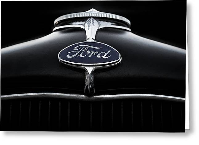 Grill Greeting Cards - Model A Ford Greeting Card by Douglas Pittman