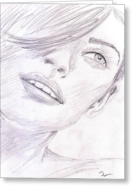 Model Greeting Card by M Valeriano