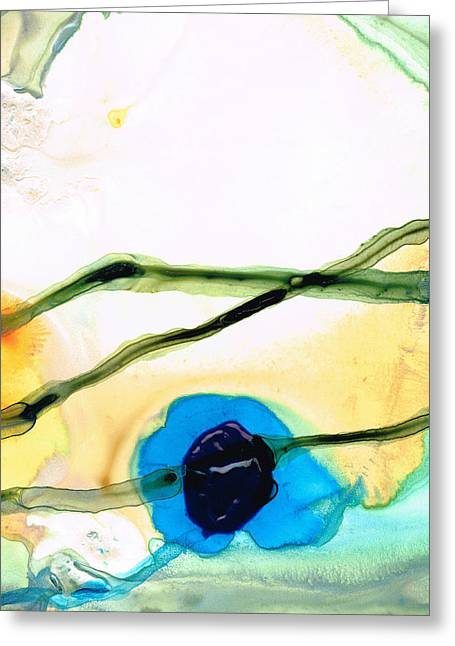 Modern Abstract Art - A Perfect Moment - Sharon Cummings Greeting Card by Sharon Cummings