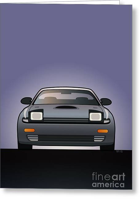 Modern Japanese Icons Series Toyota Celica  Gt-four All-trac Turbo St185 Greeting Card by Monkey Crisis On Mars