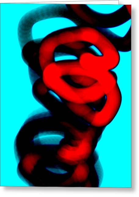 Noise . Sounds Digital Greeting Cards - In Hopes Of Greeting Card by John Q ART