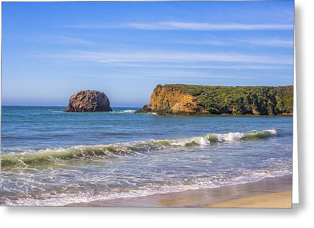 Big Sur Greeting Cards - Molera Beach Greeting Card by Joseph S Giacalone