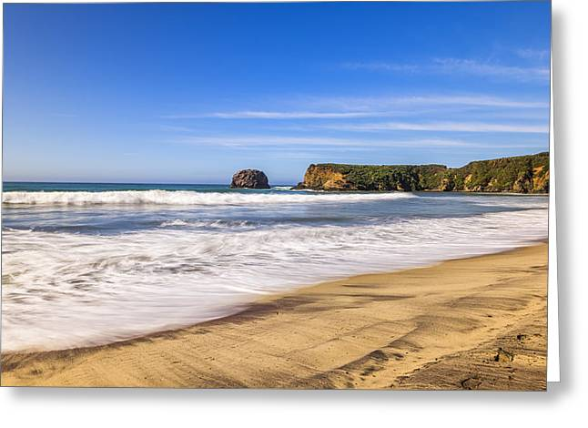 Big Sur Greeting Cards - Molera View Greeting Card by Joseph S Giacalone