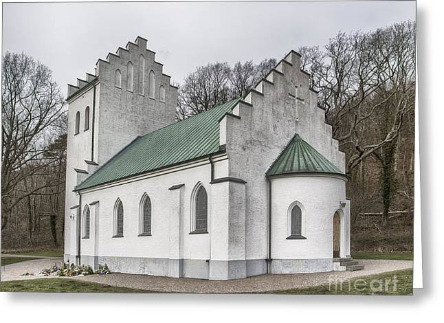Protestantism Greeting Cards - Molle Chapel Greeting Card by Antony McAulay