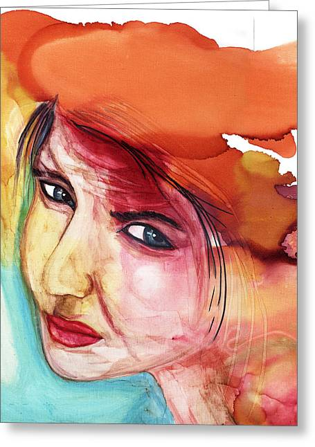 Empowerment Greeting Cards - Moment of Awakening Greeting Card by Shann Ferreira