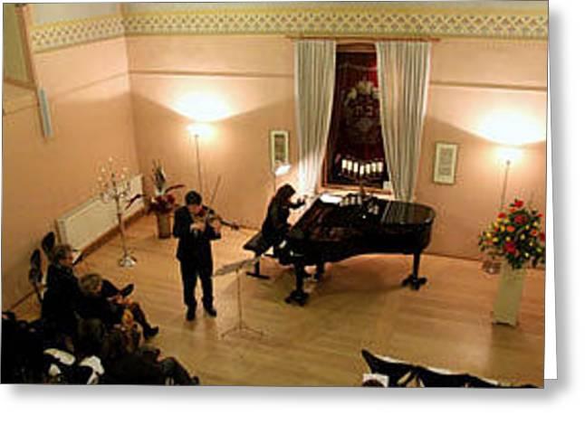 Violine Greeting Cards - Moments -      Classic      Violine     Klavier Greeting Card by Konstantin Gockel Violine    Liudmila Givoina Klavier