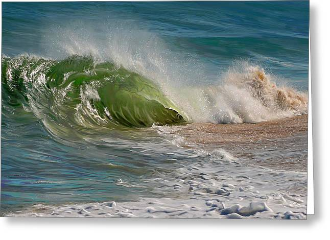 Momentum Greeting Card by Sue  Brehant