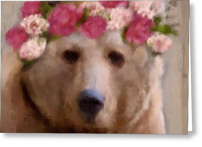 Momma Bear Greeting Card by Lisa Noneman