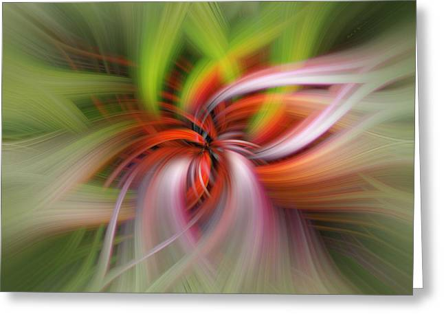 Landscape Framed Prints Greeting Cards - Monarch In Motion Greeting Card by Mark Myhaver