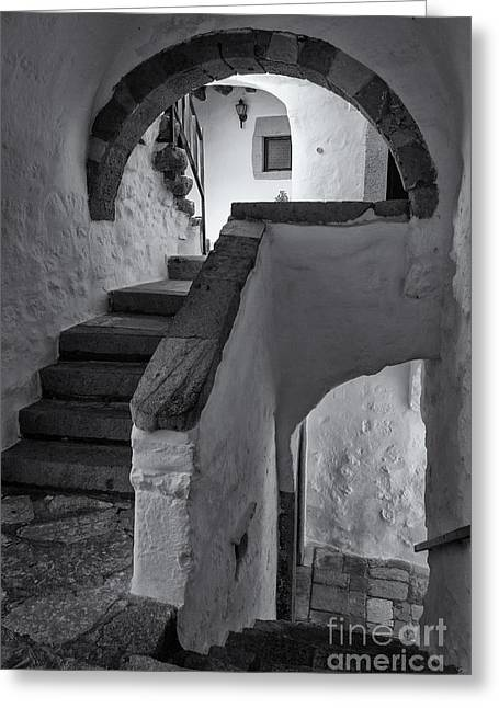 Whitewashed Greeting Cards - Monastery of Saint John the Theologian Greeting Card by Inge Johnsson