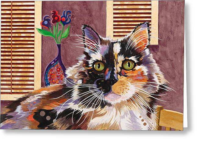 Monet Greeting Card by Bob Coonts