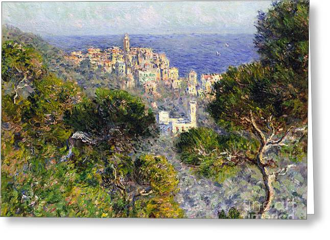 Monet: Bordighera, 1884 Greeting Card by Granger