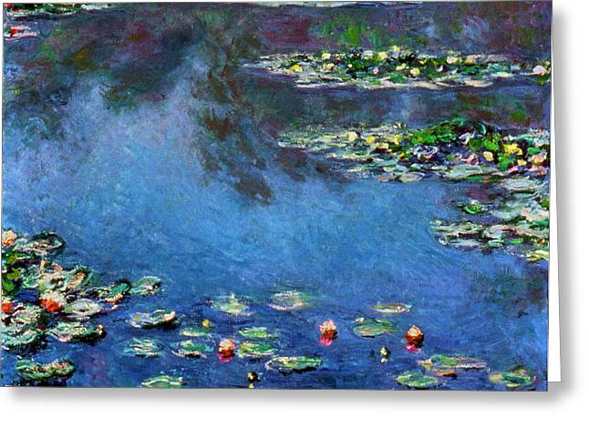 Monet: Waterlilies, 1906 Greeting Card by Granger