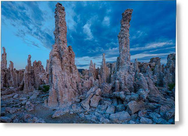 Usa Photographs Greeting Cards - Mono Lake Greeting Card by Christian Heeb