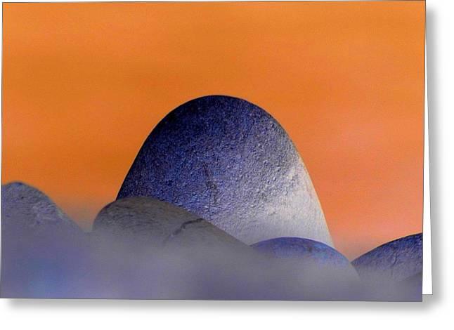 Monolith Greeting Cards - Monolith Greeting Card by Lori Seaman