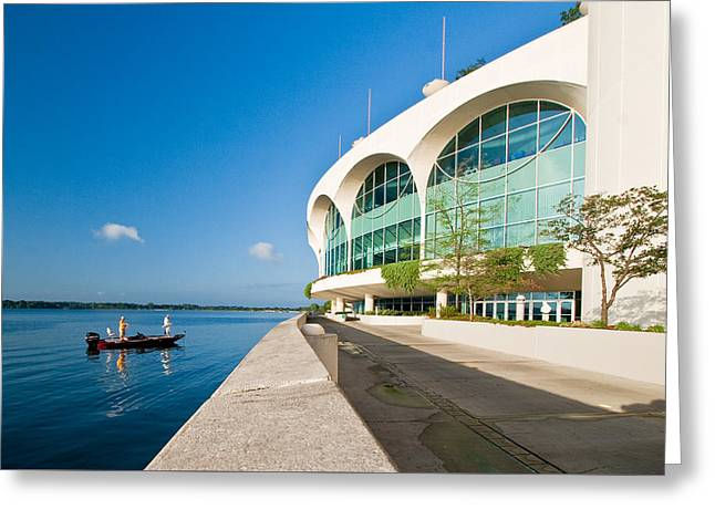 Monona Terrace Greeting Card by Todd Klassy