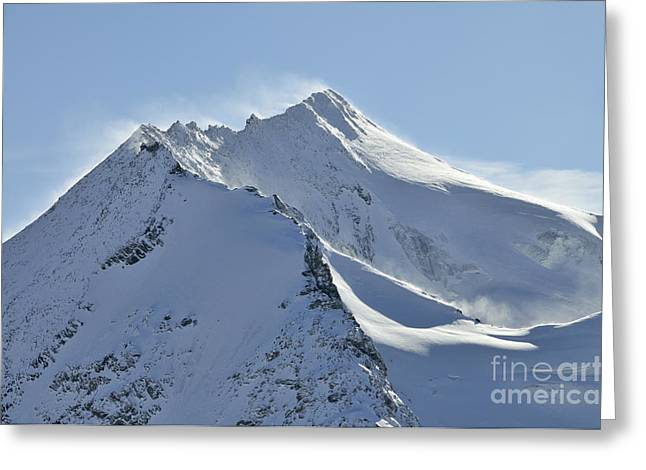 Mont Pourri Greeting Card by Andy Smy